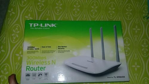 tengo tp-link   router modelo tl-wr 845 n