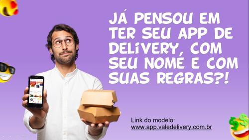 tenha seu próprio app de delivery - tipo ifood
