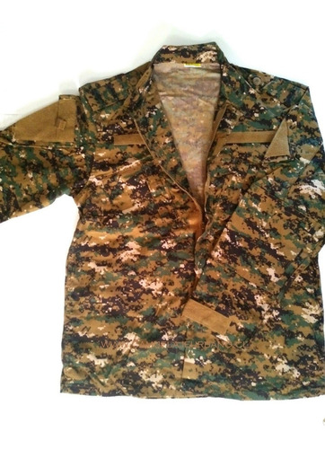 tenida combate pixelado zona sur camisa + pantalón