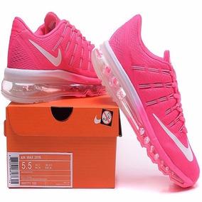 3c0ec9ab6dc Tênis Nike Airmax Flyknit Max Feminino Rosa 2017 2016 2015