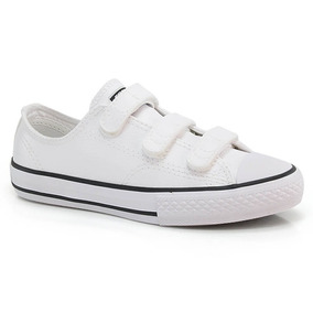 b0b9930770e T Nis Converse All Star Ct As Malden Ox Branco Costura Preta ...