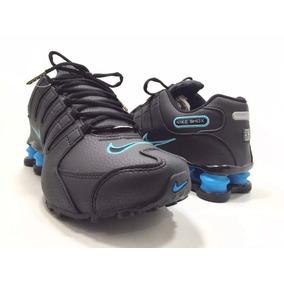 28c6e81d8e4 Nike Shox Nz 4 Mola Original Marrom - Dourado Promoção