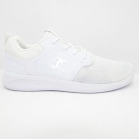 45e81929cc8b4 Tenis Dc Shoes Midway Sn Mx Adys700096 Wht White Blanco