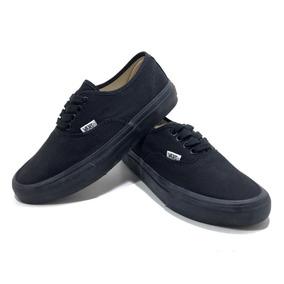 e84dedcb9e7 T Nis Vans Authentic Black Black Vn 0ee3bka Feminino - Calçados ...
