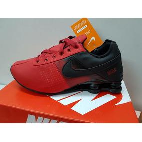 separation shoes 834f6 17ee4 Tênis Nike Shox Classic Vermelho E Preto Edição Limitada
