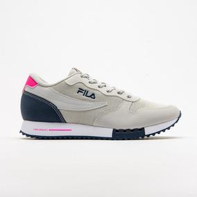 305ef9a9e98 Tênis Fila Euro Jogger Sport - Feminino - Cinza Claro pink