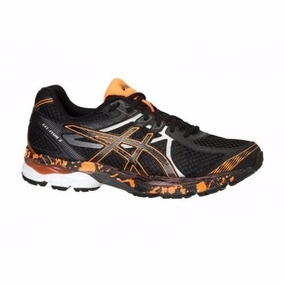 265df4598bd Tenis Gel Flux 3 Black onyx orange Asics