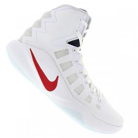 4a67b7c0e68 Tênis Basquete Nike Hyperdunk 2016 Usa Branco Tamanho 45