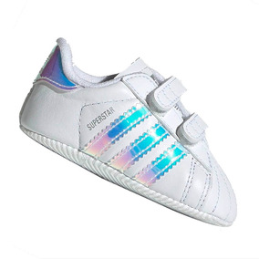 13936d736b3 Tênis adidas Bebê Superstar Branco Iridescente Db8000
