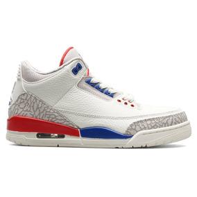e99e6889ca46d Air Jordan 3 Retro Gs Charity Game Blanco Dama O Jnr