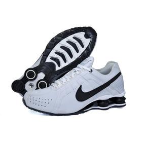 0f7236378fa Tnis Nike Shox 4 Molas Prata E Preto - Tênis no Mercado Livre Brasil