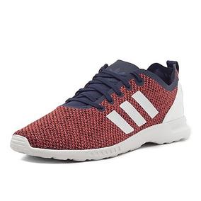 adidas zx flux mujer rojas