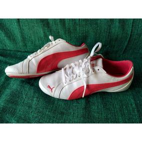 a93dc514384 Tênis Sapatilha Puma Original Feminino Branco E Rosa 34