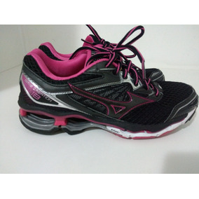 4ce4e4b504b23 Tênis Mizuno Wave Creation 18 Original Feminino. R  450