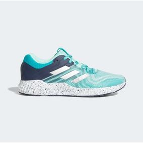 d4fc2b5927a adidas Tenis Aerobounce St 2 Mujer Azul Running Originales