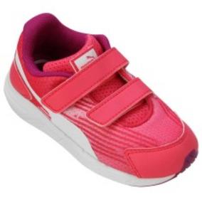 aed433fc03d12 Tenis Puma Rosa E Branco - Calçados
