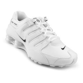 5ba33487bec Tênis Nike Shox Nz Masculino Branco - Original Frete Grátis