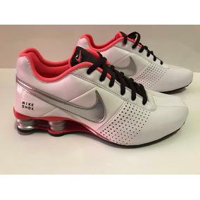 acd69b5bf14 Tenis Nike Shox Dourado 36 - Tênis Casuais Branco no Mercado Livre ...