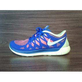 eed0014e2b8 Tenis Nike Free 5.0 V4 - Nike para Masculino Azul no Mercado Livre ...