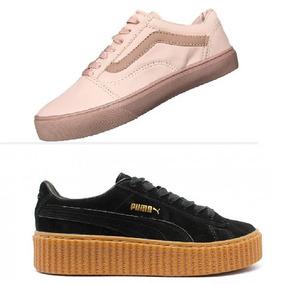 8e40761f89a23 Promoção Tenis Puma Rihanna Fenty + Vans Old Skool + Frete