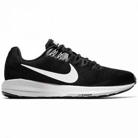 73b40d53c0232 Tênis Nike Air Zoom Structure 21 Preto Corrida Original. R  379