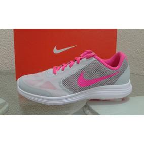 082e50a5a7031 Nike Revolution 3 Mujer Rosa - Tenis en Mercado Libre México