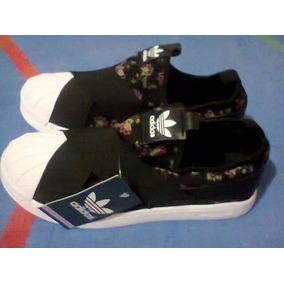01c5edb929b31 Tenis adidas Superstar Slip On Preto E Branco Nº38 Original