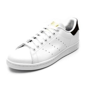 24cf4baa559 Tênis Couro adidas Originals Stan Smith Branco preto
