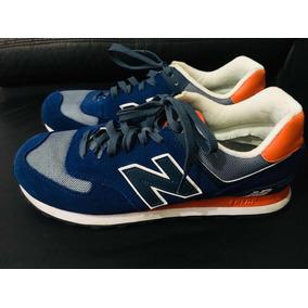 36735254873 Vendo Tênis New Balance Classic 574 Azul E Amarelo Tam 41-42. Usado - São  Paulo · Baixei P Vender!!!new Balance 574 Original Tam 42 Novissimo
