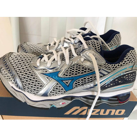 6eff64641d76f Tênis Mizuno Feminino 37 Wave Creation 12