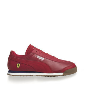 0e182b63d Tenis Puma Sf Roma Rojo Hombre Original 822620 Ferrari Nuevo