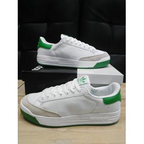 83c5246826740 Zapatillas Adidas Rod Laver Verdes - Tenis para Hombre en Mercado ...