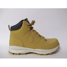 d18d4a30994 Nike Manoa Leather Boots Haystack Wheat Importación Mariscal