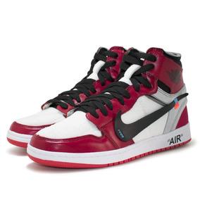 abedd59e315 Tenis-bota Nike A Ir Jordan 1 Lançamento De Couro Import