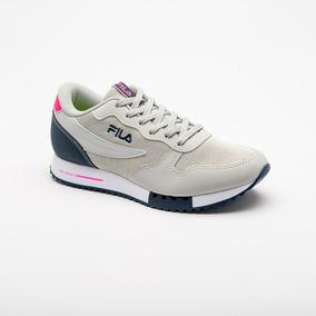 91302f8cd59 Tênis Fila Euro Jogger Sport 802952 Prata-marinho-rosa