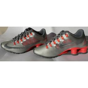 f675431a7ee Tenis Nike Shox Superfly R4 Tamanho 36 Cinza Rosa Original