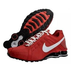 4541b92a7ed Tenis Nike Shox Jr - Para Tênis Vermelho no Mercado Livre Brasil
