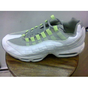 af66ccb4639 Tenis Nike Air Max Branco E Verde Nº 39 Running Masculino - Calçados ...