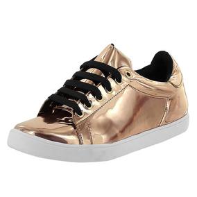 6c555b341f3 Tenis Metalico Dama Mujer Calzado Juvenil Dorothy Gaynor