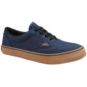 ba726e49fae Tenis De Saltinho Jeans Vans - Tênis para Feminino Azul no Mercado ...