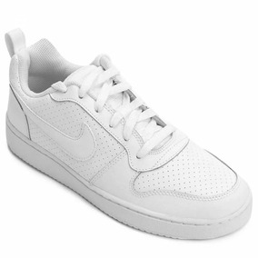 cf92797890b Tênis Esportivo Nike Court Borough Low (gs) Branco De Dafiti - Para ...