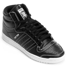 2c2af2fa554 Tênis Adidas Sneakers Originals Top Ten Hi Sleek W - Tênis no ...