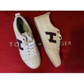 a4fc41081f0 Bonitos Y Baratos Tenis Blancos Marca Tommy Hilfiger - Tenis en ...