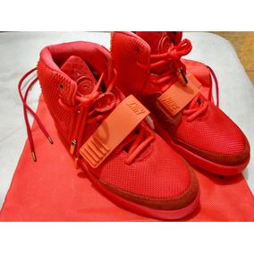 Precio reducido diseñador de moda mejor autentico Nike Air Yeezy October Red en Mercado Libre México