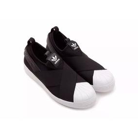 76e53329a8e2c Adidas Superstar Slip On Branco - Calçados