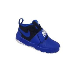 99ef7f6360c Tênis Masculino Infantil Nike Team Hustle D 8 Ps - Azul