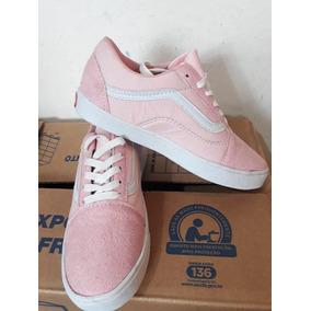 d32462501d2 Tenis Vans Feminino Cinza E Rosa Original Outras Marcas - Tênis para ...