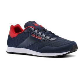 dcdc2590d8480 Tenis Hombre Reebok Royal Dimension Azul Marino Casuales Gym