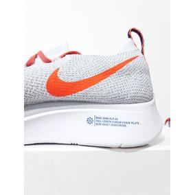 e570573d00f Tênis Nike Zoom Fly Flyknit Corrida Original Branco N. 39