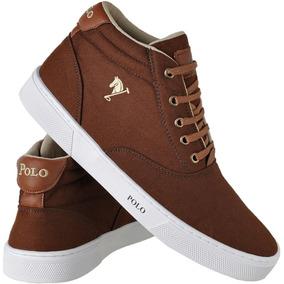 c90244f6a81 Sapatenis Sound Cano Alto Marron Nike - Calçados